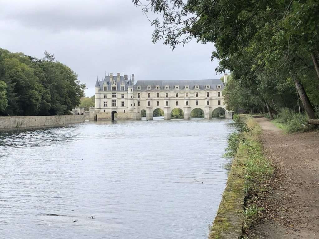 Bike touring Chenonceau France