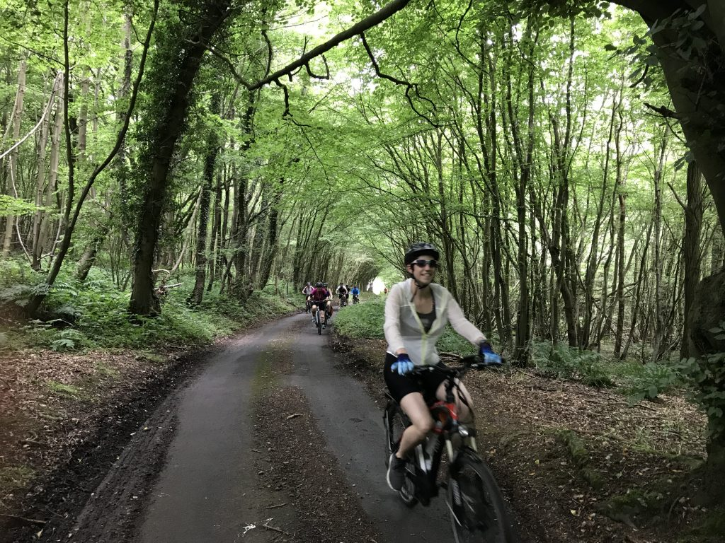 E-Bike Touring Kent England